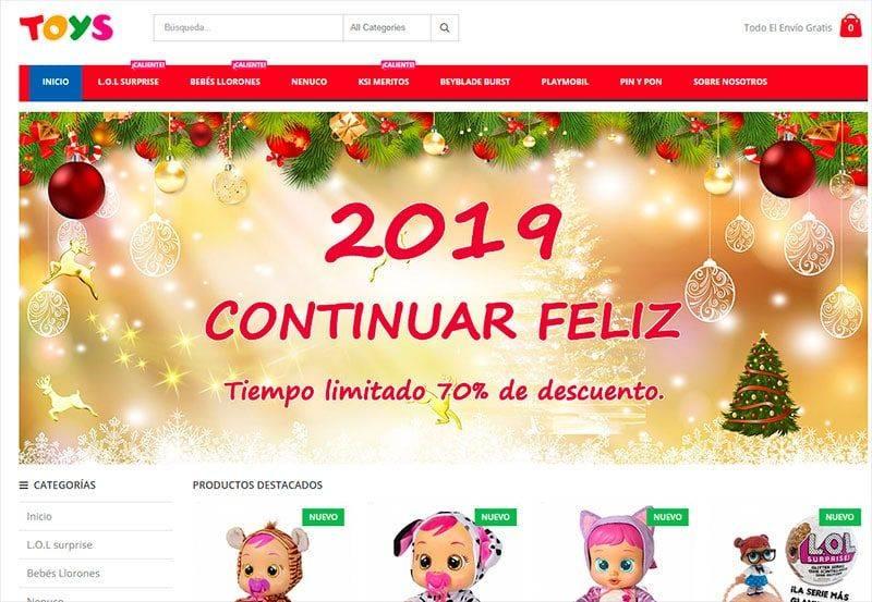 Vjuguete.com Tienda Online Dudosa Juguetes
