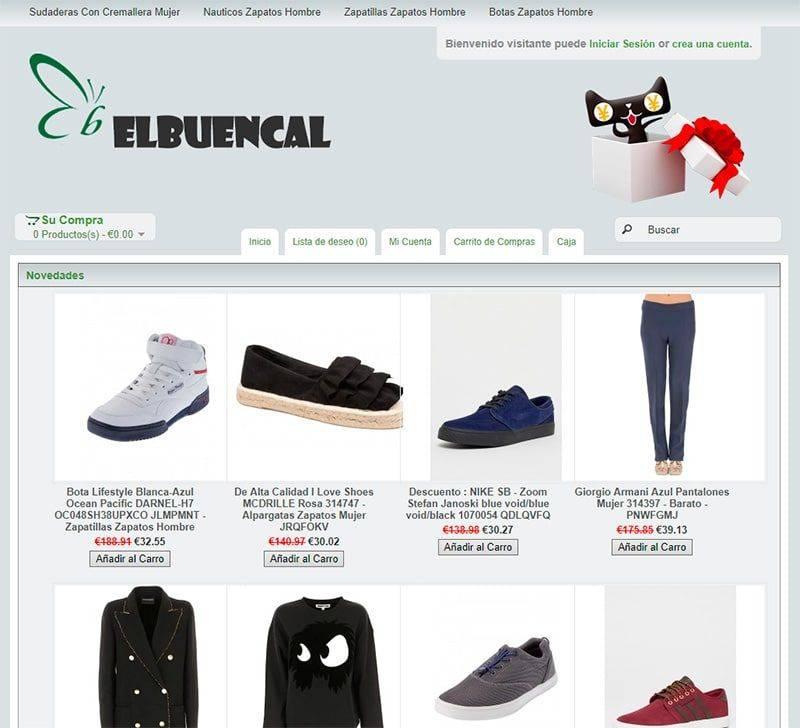 Elbuencalendario.es Tienda Falsa Online Moda