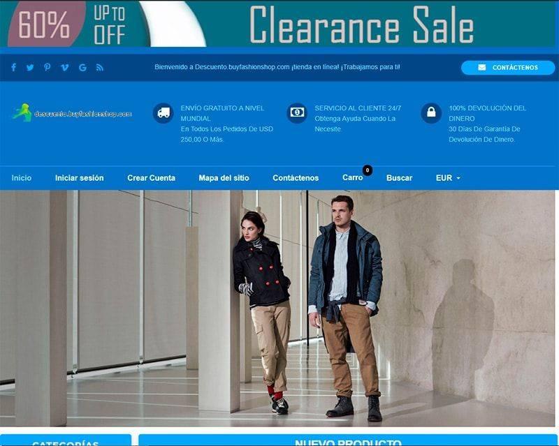 Descuento.buyfashionshop.com Tienda Falsa Online Moda