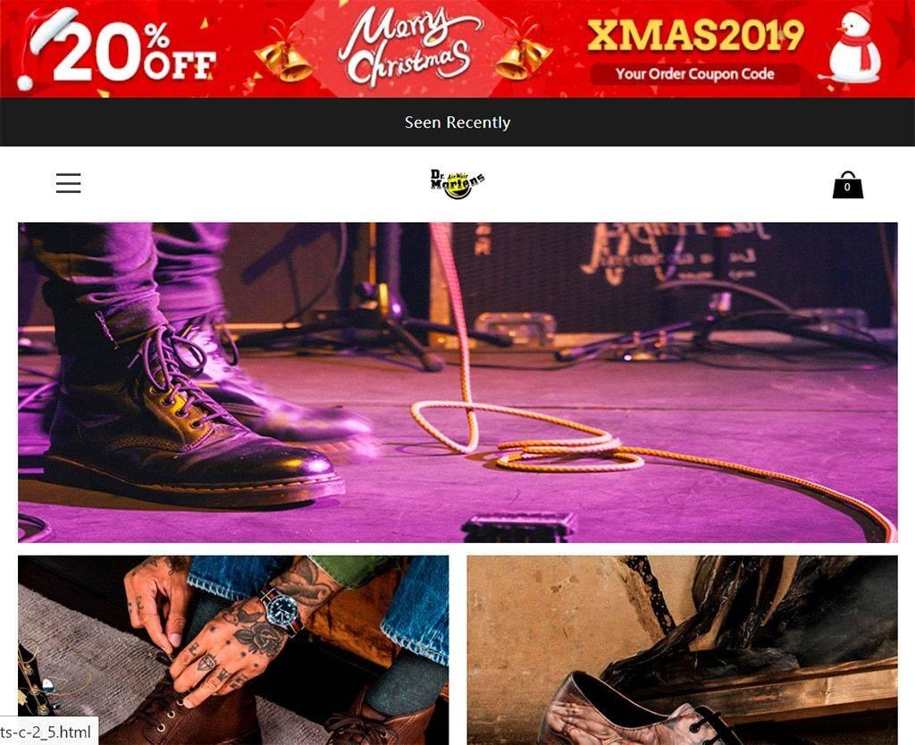 Garminsshop.club Tienda Online Dudosa Dr Martens